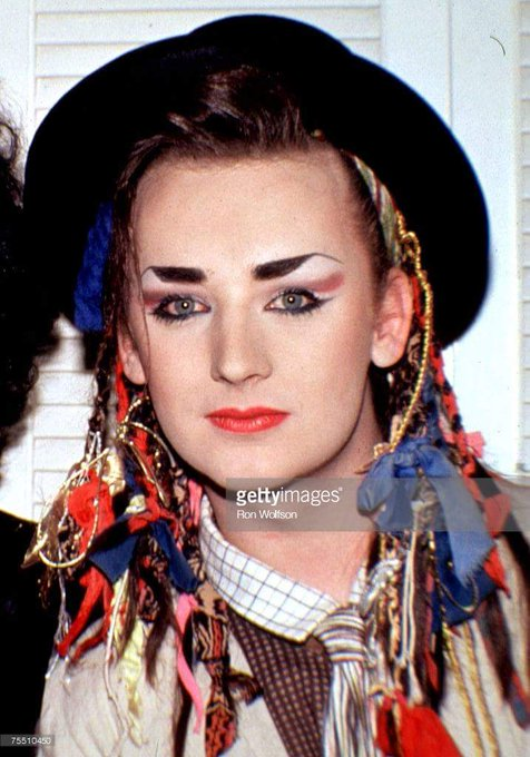 Boy George George Alan O\Dowd / Culture Club) Birth 1961.6.14 ~ Happy Birthday