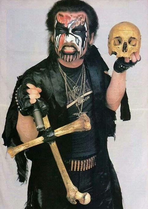 Happy Metal Birthday to King Diamond, the one and only king I would bow down to