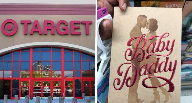 Target Has Apologized For Selling Baby Daddy Greeting Cards Ahead