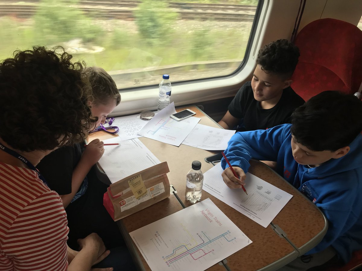 test Twitter Media - On our way and completing our literacy and numeracy packs 📝🚆 https://t.co/08UhaPyGX4