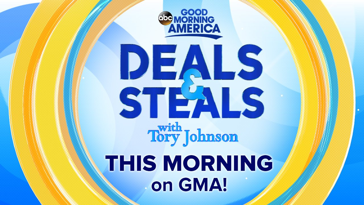 AHEAD ON @GMA: #GMADeals with @toryjohnson! Everything you need for summer made simple! https://t.co/HlTgGyOaB2