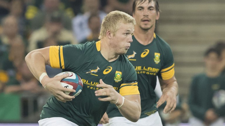 test Twitter Media - South Africa have made two changes to the starting XV for the second Test against England in Bloemfontein on Saturday: https://t.co/C00SyhcGt4 https://t.co/lRVQAmauiJ