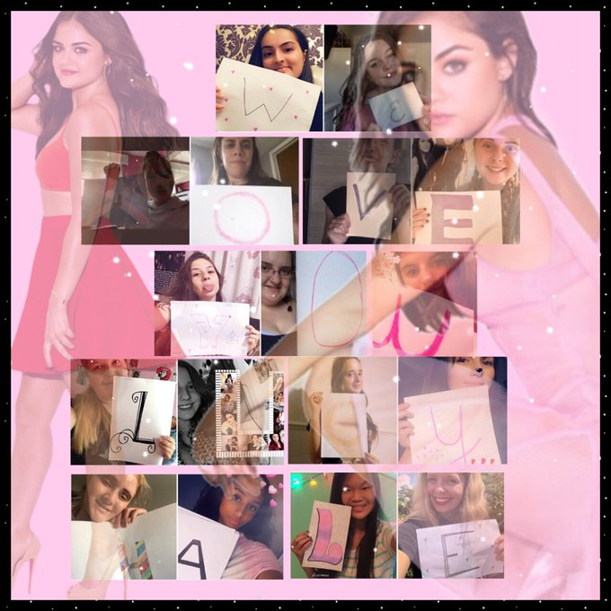 Happy Birthday Lucy Hale. We love you.