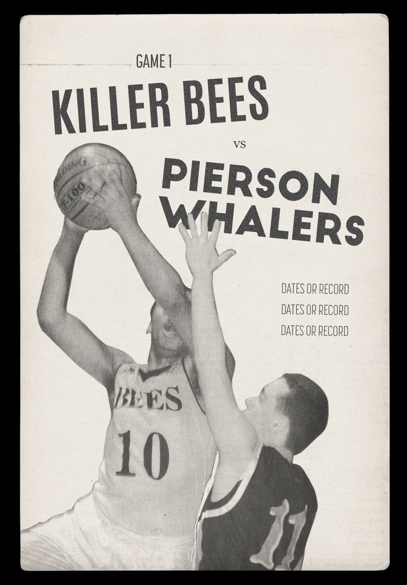 test Twitter Media - What does it mean when the Bridgehampton Killer Bees take on the Pierson Whalers? Bad news for the Whalers! Thumping them Whalers in theaters on July 27th! NYC & LA. iTunes and other VOD on August 7! #killerbeesmovie @shaq @TheSteinLine https://t.co/abyZW1r99t