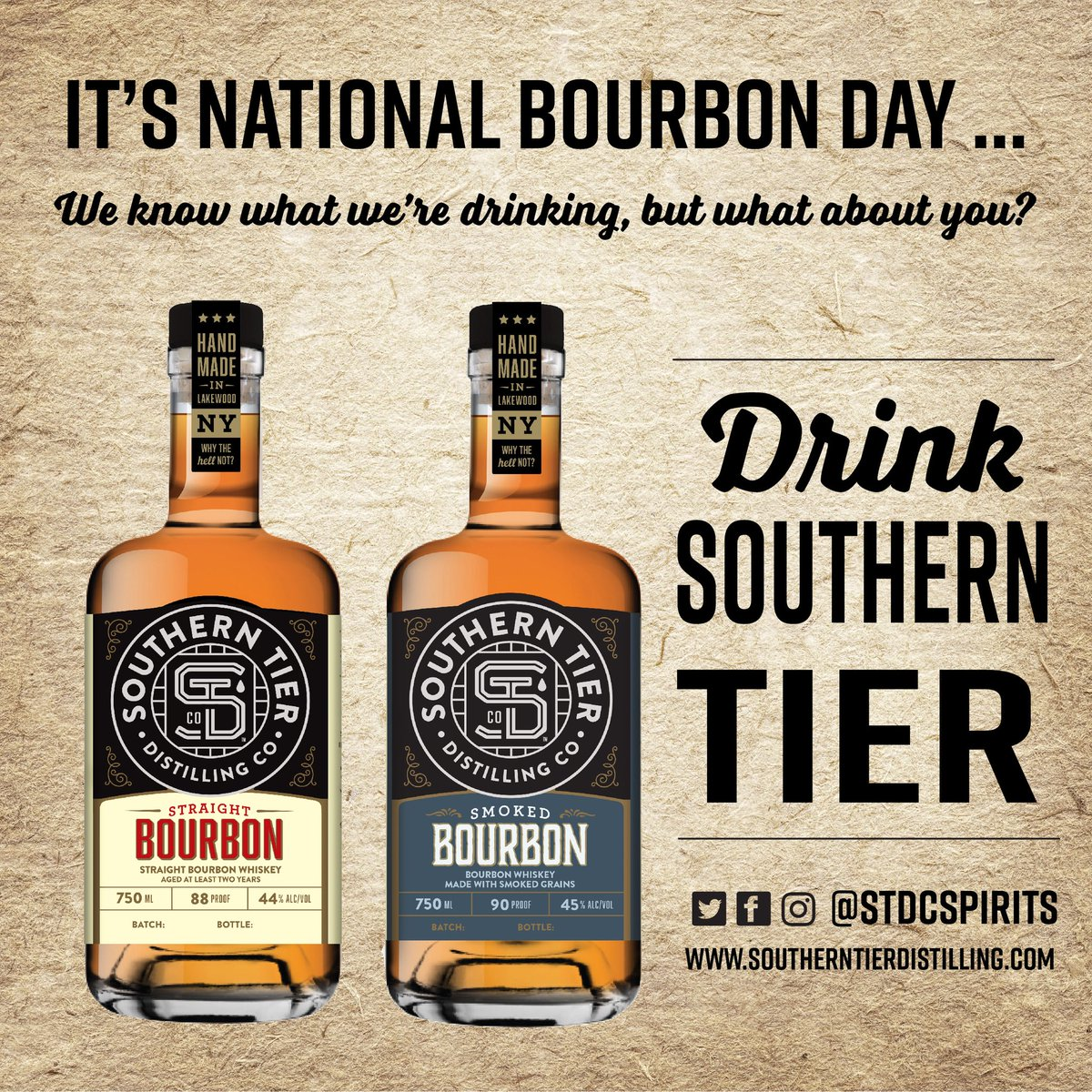 """Who's ready? <a target=""""_blank"""" rel=""""nofollow"""" href=""""https://twitter.com/#!/search?q=%23nationalbourbonday"""" class=""""hashtag"""">#<strong>nationalbourbonday</strong></a> <a target=""""_blank"""" rel=""""nofollow"""" href=""""https://twitter.com/#!/search?q=%23straightbourbon"""" class=""""hashtag"""">#<strong>straightbourbon</strong></a> <a target=""""_blank"""" rel=""""nofollow"""" href=""""https://twitter.com/#!/search?q=%23smokedbourbon"""" class=""""hashtag"""">#<strong>smokedbourbon</strong></a> <a target=""""_blank"""" rel=""""nofollow"""" href=""""https://twitter.com/#!/search?q=%23stdc"""" class=""""hashtag"""">#<strong>stdc</strong></a> <a target=""""_blank"""" rel=""""nofollow"""" href=""""https://twitter.com/#!/search?q=%23whythehellnot"""" class=""""hashtag"""">#<strong>whythehellnot</strong></a> <a target=""""_blank"""" rel=""""nofollow"""" href=""""https://t.co/DAfCL7wvlN"""">https://t.co/DAfCL7wvlN</a>"""