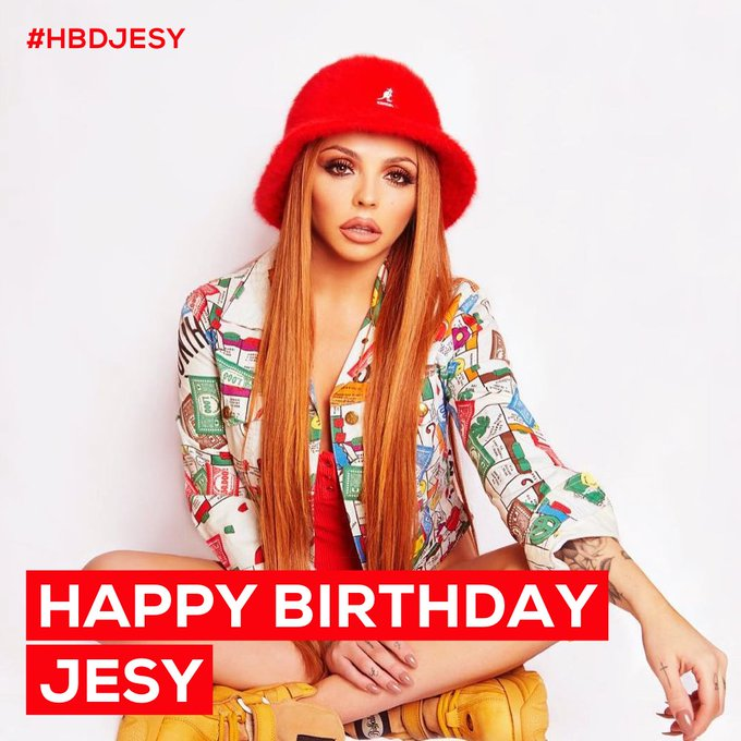 Happy birthday to Jesy Nelson.