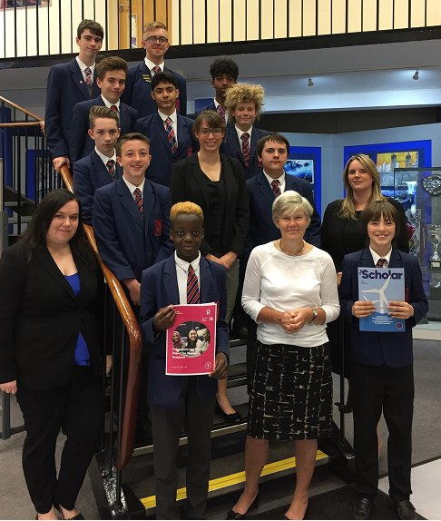 test Twitter Media - Students were extremely proud to discuss all their hard work and achievements on The Scholars Programme with local MP @KateGreenSU and @BrilliantClub  Read all about it: https://t.co/vuWAqvwcee #university #scholars #proud #careers #futures https://t.co/7R0JD7iOJ8