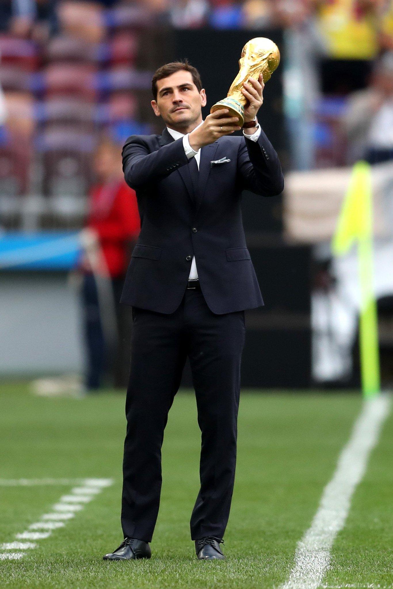 Three-time #UCL winner @IkerCasillas ������   #WorldCup https://t.co/RMY49oj81B