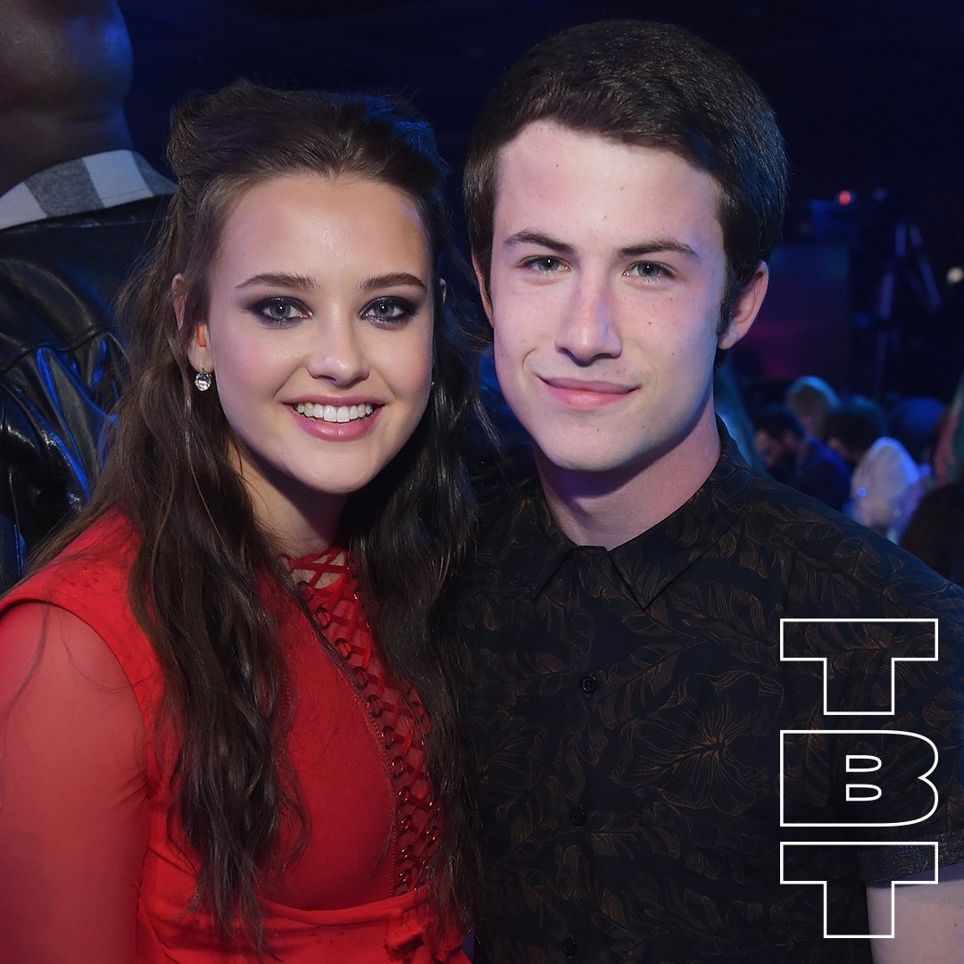 Throwing it back to last year's #MTVAwards with #KatherineLangford & @dylanminnette �� https://t.co/iyTIWYIlhx