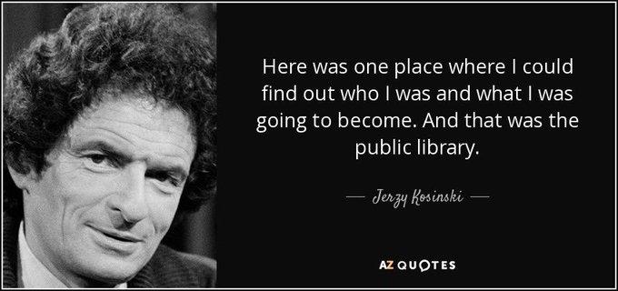 Happy Birthday to Polish-born novelist, Jerzy Kosinski (1933).