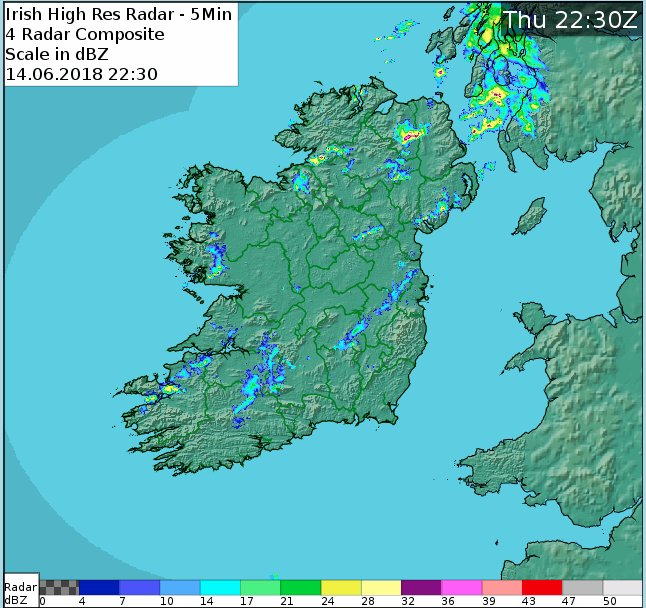 Clear spells and scattered showers, some of them heavy, but the risk of showers will diminish in many eastern and southern parts of the country overnight. Lows of 8 to 10 degrees in light to moderate southwest breezes, with a few isolated mist patches occurring also. https://t.co/6pnlnPf6p9