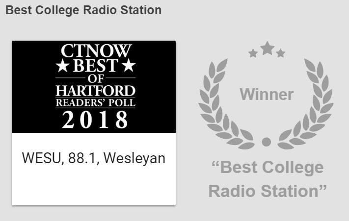 test Twitter Media - Congrats @WESUmiddletown for being named Best College Radio Station by @GoToCTNow's Hartford  Readers' Poll! https://t.co/R7cvLxDkyv https://t.co/zy2GWFZ211