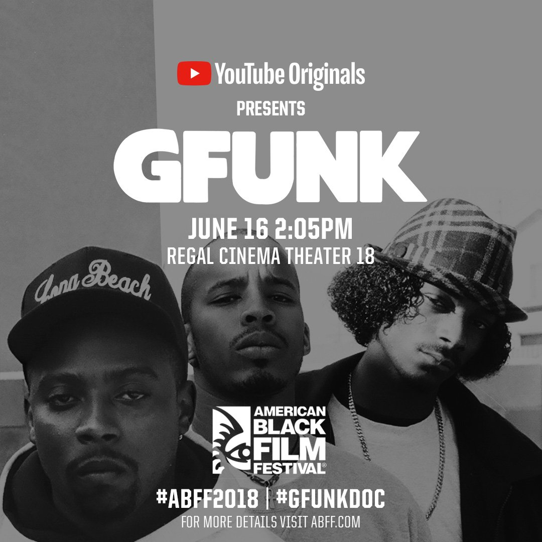 Miami go check the G Funk screening Sat at #ABFF2018 ???????? #GFunkDoc comin out this July on @YouTube https://t.co/86FwwPw9Rc