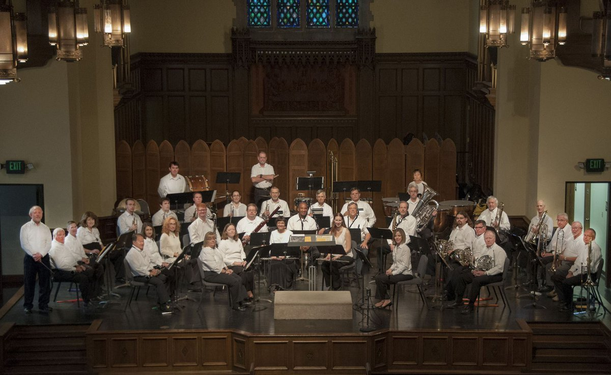 test Twitter Media - Parkville Symphonic Band's free Independence Day Concert is July 4th at 7:30pm at Graham Tyler Memorial Chapel @ParkUniversity to commemorate 100th anniversary of end of World War I. Also performing at Parkville Presbyterian Church Final Fridays Concert Series June 29th at 7pm. https://t.co/Q6swNPTDCN