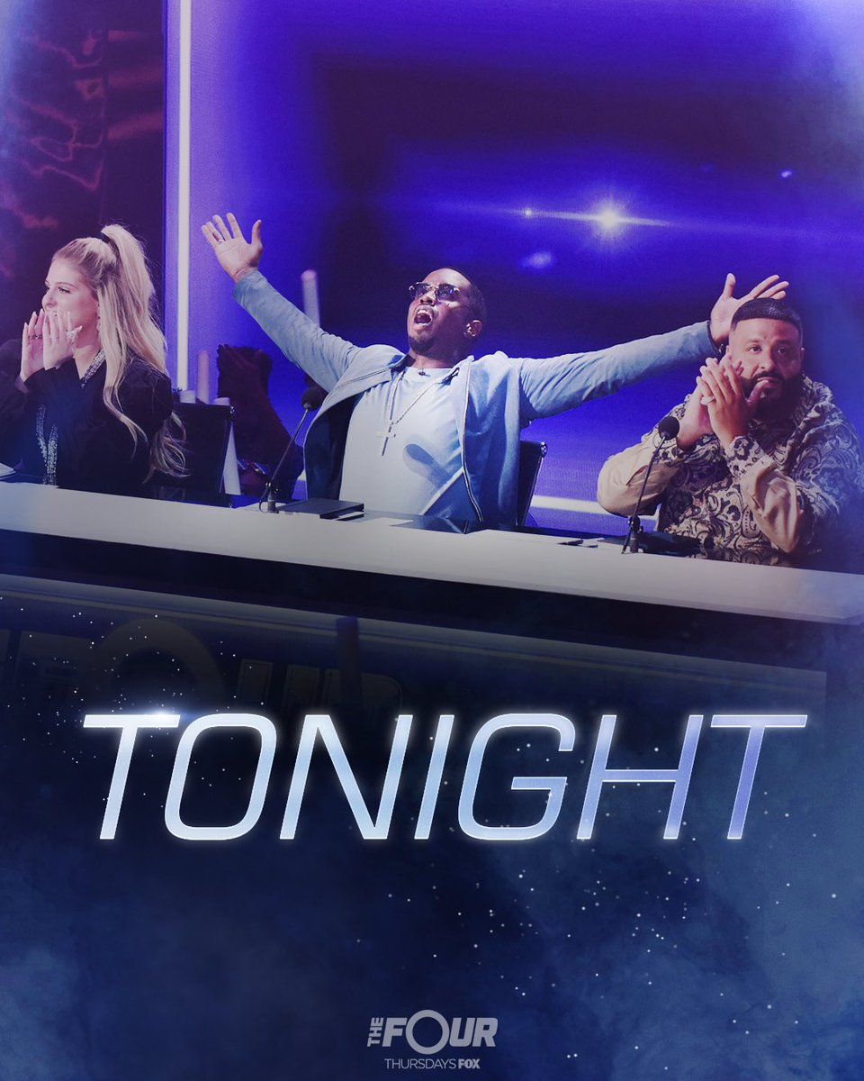 RT @djkhaled: Live tweet with us tonight using #TheFour !! 8/7 c @TheFourOnFOX https://t.co/YXfMH01nog