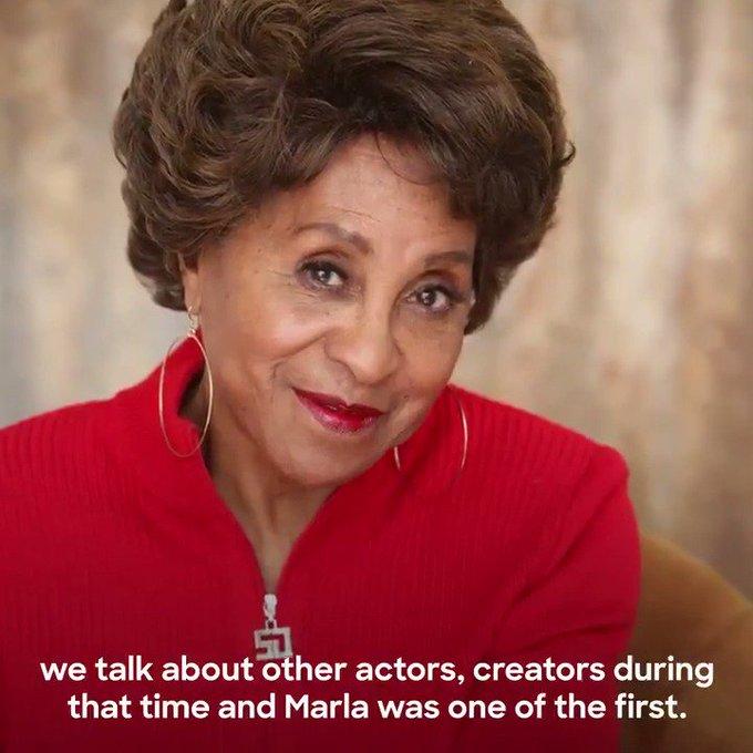 A trailblazer. An Icon. A Legend. Happy Birthday Marla Gibbs!