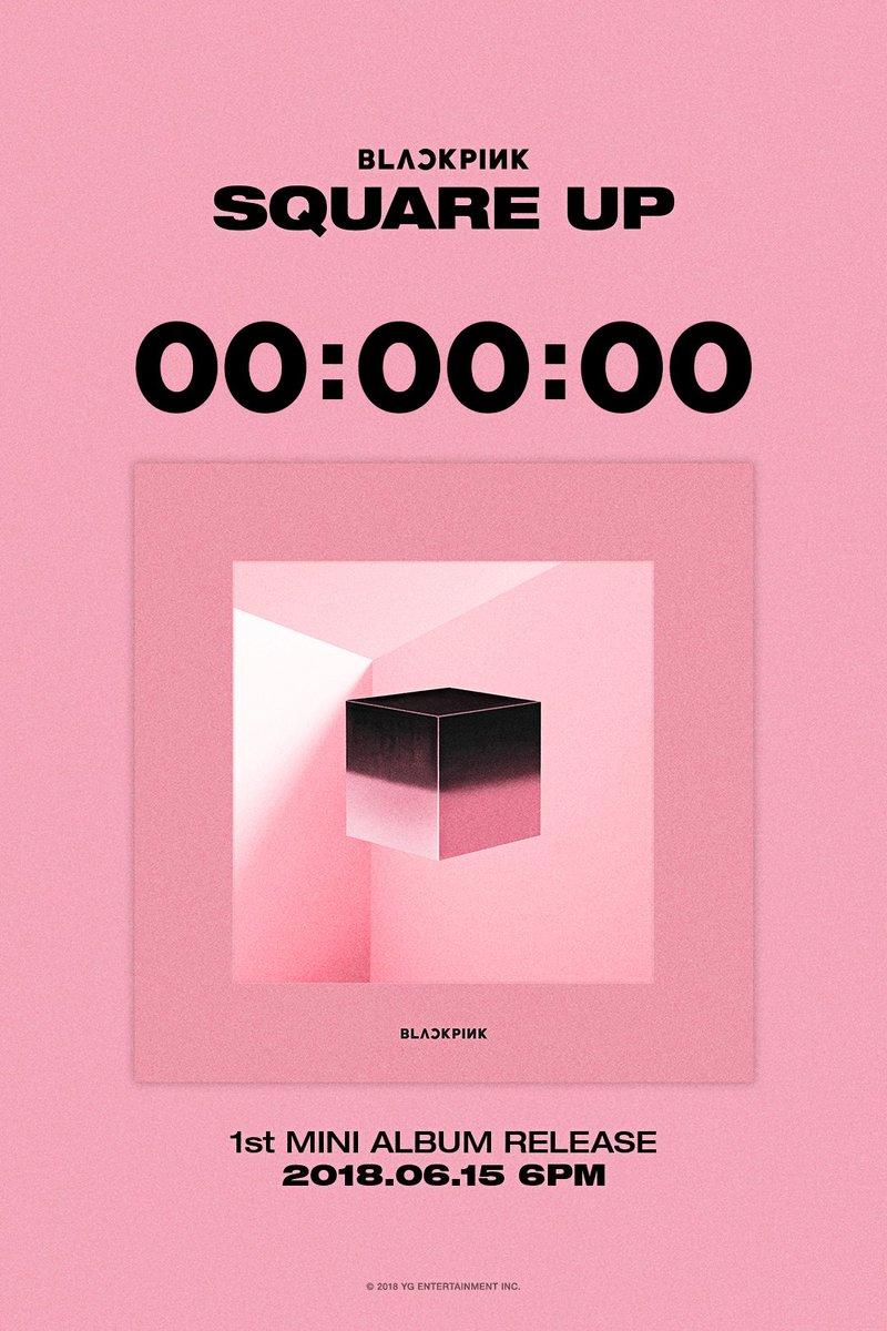 1st Mini Album Square Up Album Counter Originally Posted By