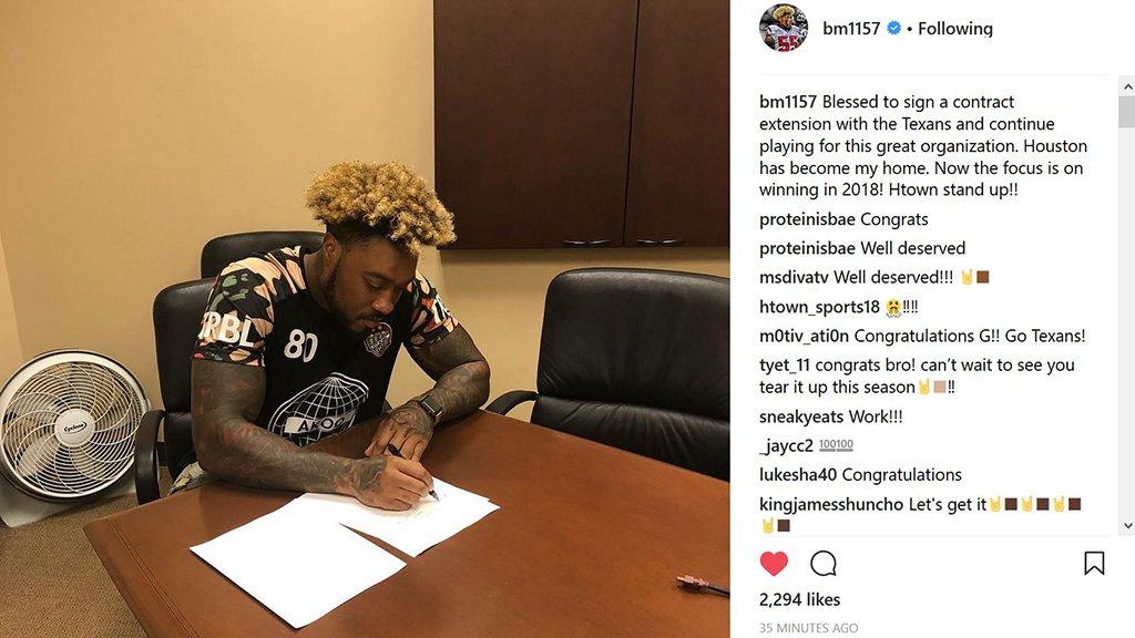 .@bm1157 makes it official. ✍ https://t.co/d3JXWs9z7k