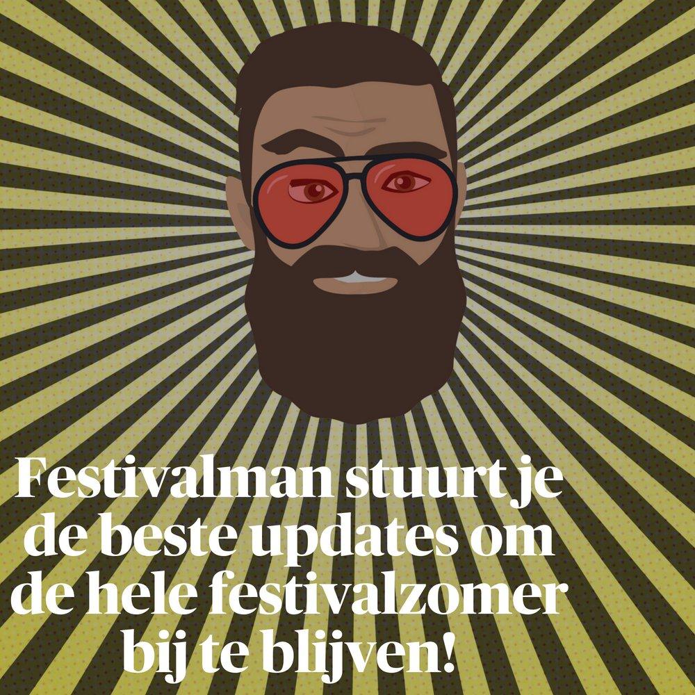 Tips, nieuwtjes en reviews vanop de festivals? Onze Festivalman schiet je te hulp! https://t.co/7pXJXD7VBG https://t.co/I7nVCqkdv5