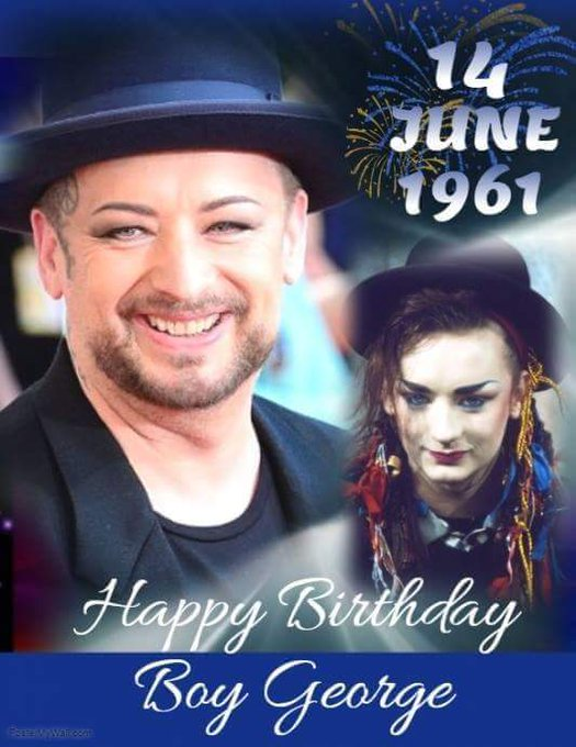 Happy Birthday Boy George