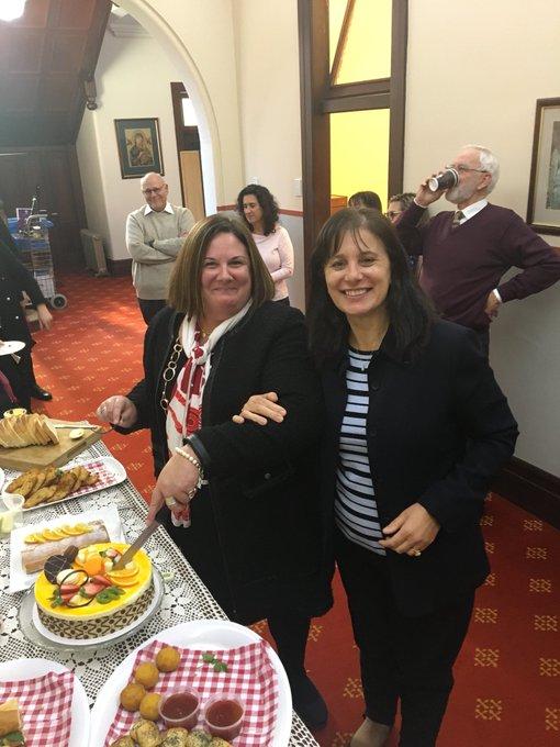 Happy birthday to those in the REFF Directorate, Antonella, Jo, Liz and Sandra!!!!
