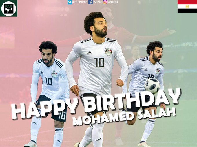Happy birthday to mohamed salah
