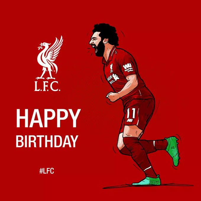 Happy birthday Mohamed Salah!