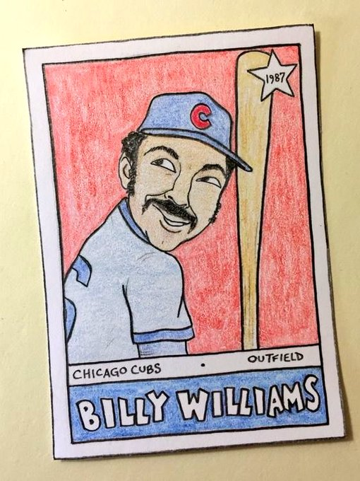 Wishing a very happy birthday to Hall of Famers Billy Williams and Wade Boggs!
