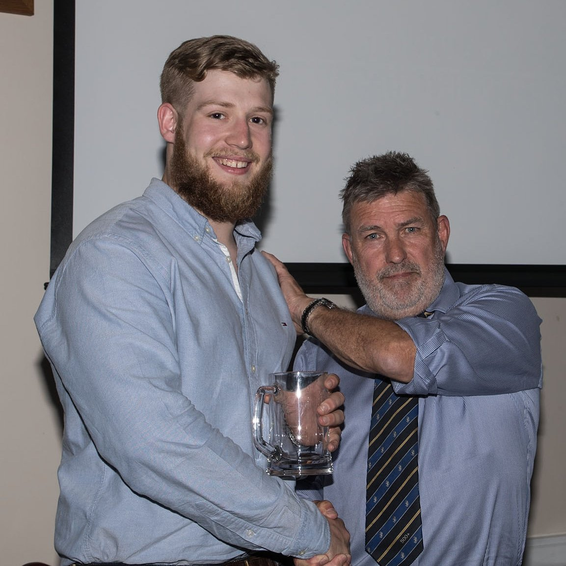 test Twitter Media - When you've just scooped the Chairman's player of the year award... 🏆 #Macclesfield #rugbyfamily #nat2north #cheshire #backingmacc @tomhenryburden @peteharper0071 https://t.co/oTOtxEbwoJ
