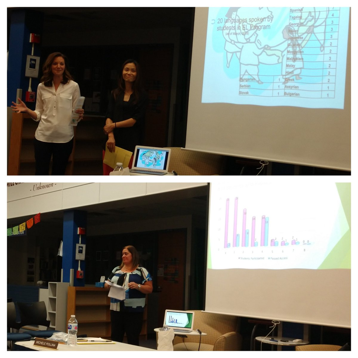 test Twitter Media - Thank you to Ms. Schulman, Mrs. Teer & Mrs. Choi for last night's Student Services board presentation, which put us in our English  Learner's shoes. Our diversity is our greatest strength, and we are proud of the growth of all of our students! #D30learns https://t.co/seubpJNKfT