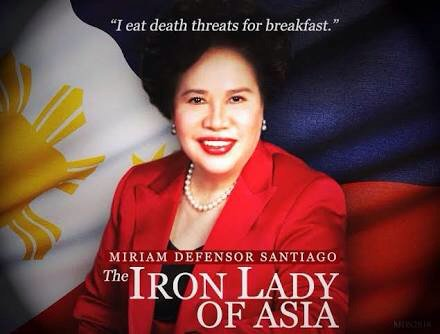 Happy 73rd Birthday to the feisty \Iron Lady Of Asia\, the late Sen. Miriam Defensor-Santiago.