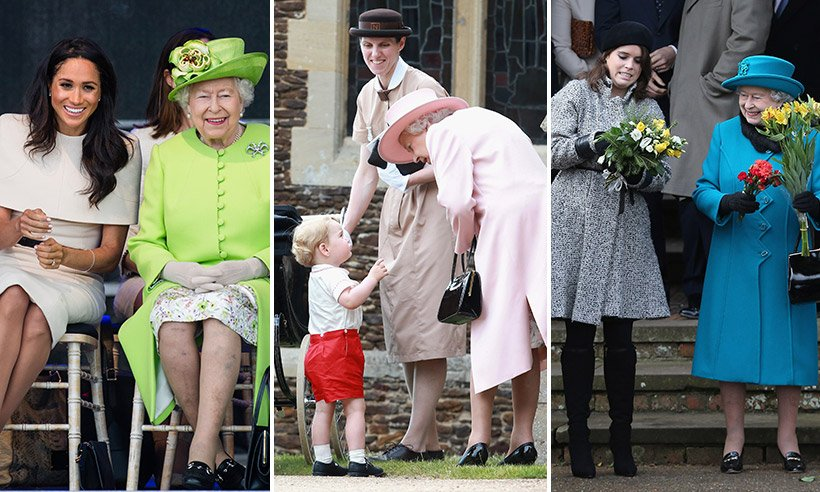 The Queen is such a wonderful granny! See her best family moments: