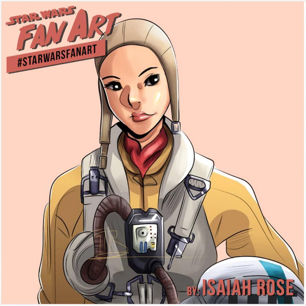 Dreadnought killer. Paige Tico lives in Isaiah Rose's #StarWarsFanArt. https://t.co/xACAn5Z4gH