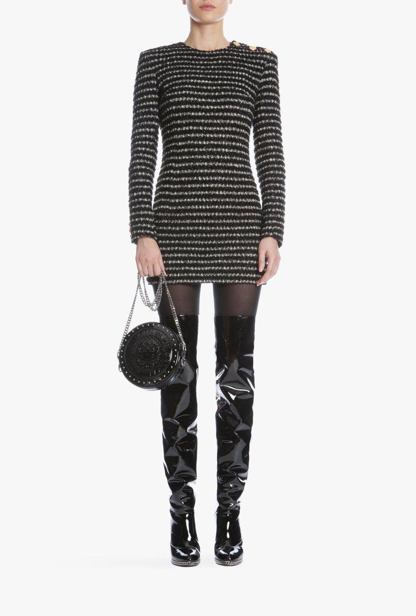 PRE-FALL EDGE, Shop the new #BALMAINPF18 dresses: https://t.co/q4u2siQma8 https://t.co/F6Bow6He7Z