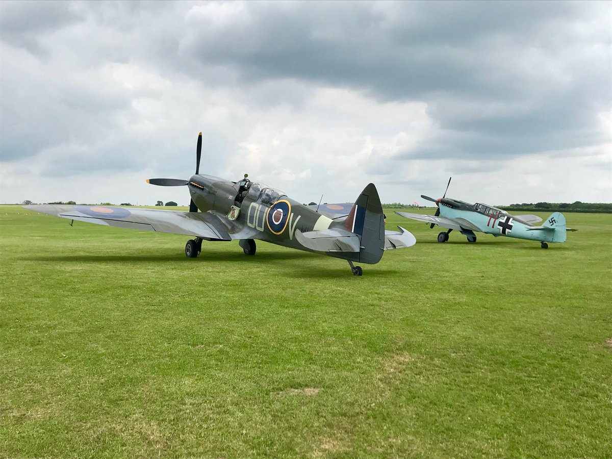 test Twitter Media - Grace Spitfire and Buchon (ME109) flew together this week with our first dual flight passengers You can now book your flight in this original historical aircraft the only two seat Buchon in the world. Flights@ML407.co.uk  https://t.co/buwLUFo14Y https://t.co/c8dpxrVVG2