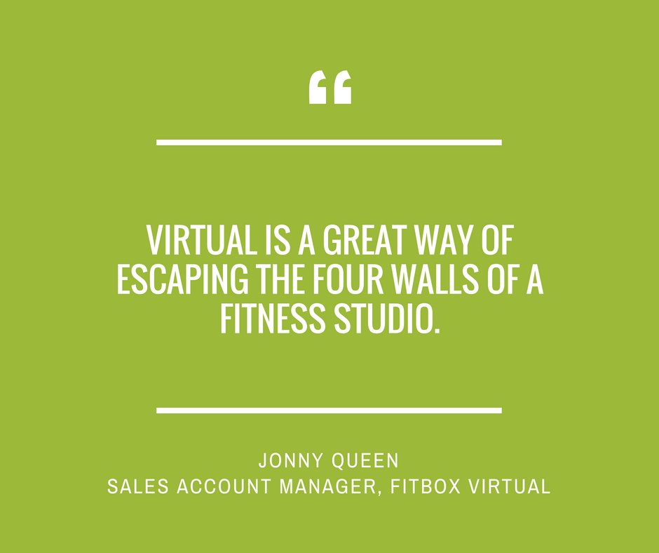 Image for Want to know where GroupX tech is headed for the world's leading fitness providers? We've been speaking to some to find out! Next in the series, Jonny Queen of @FitboxVirtual talks about how virtual fitness technology is breaking. Read his insights here: