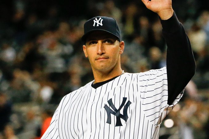 Wishing a very happy birthday to legend, Andy Pettitte who turns 4  6  today   !
