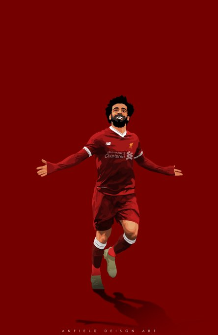 Happy birthday mohamed salah  wish to see you in liverpool shirt forever and ever.