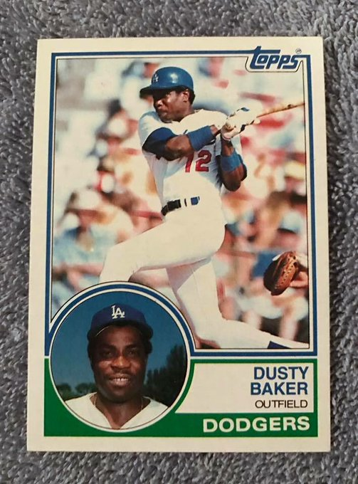 Happy birthday to my all-time favorite player, Dusty Baker!
