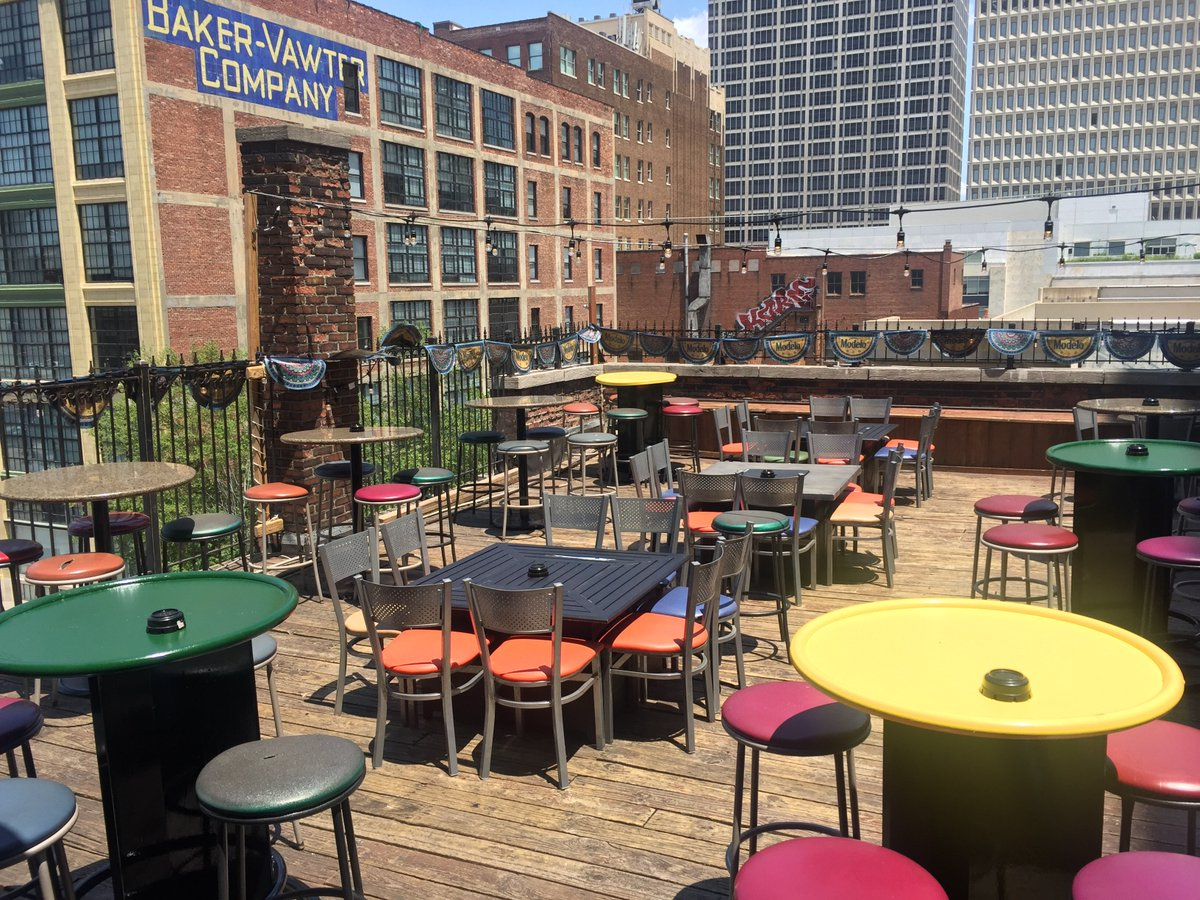 Come help us break in our new deck furniture!  $3 Fat Tire drafts all night!  #gomd #kcjoint