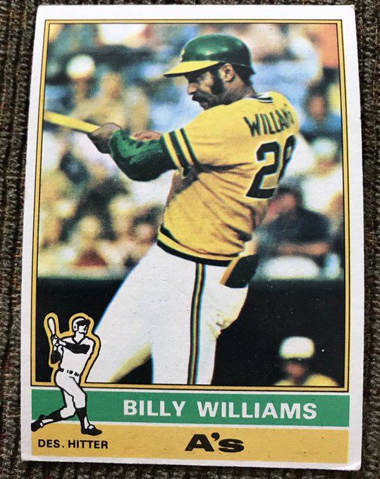 Happy Birthday, Billy Williams.