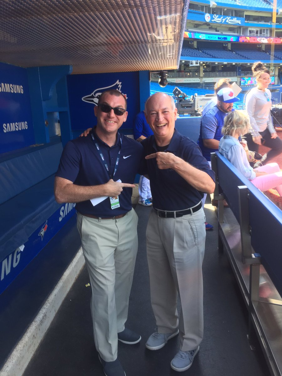 BlueJays play by play announce jerry howarth