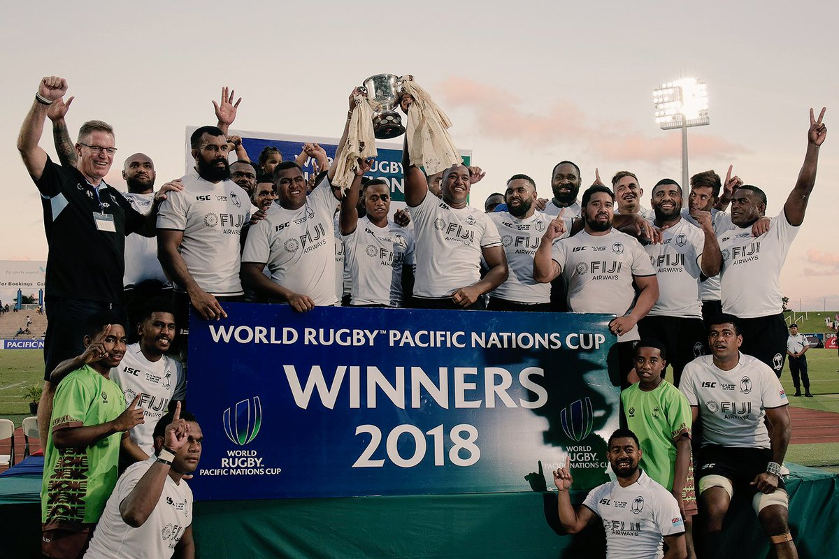 test Twitter Media - Congratulations to @fijirugby who have won the World Rugby Pacific Nations Cup 2018, after beating Georgia 37-15 to finish top of the standings https://t.co/bnGplPtaBs