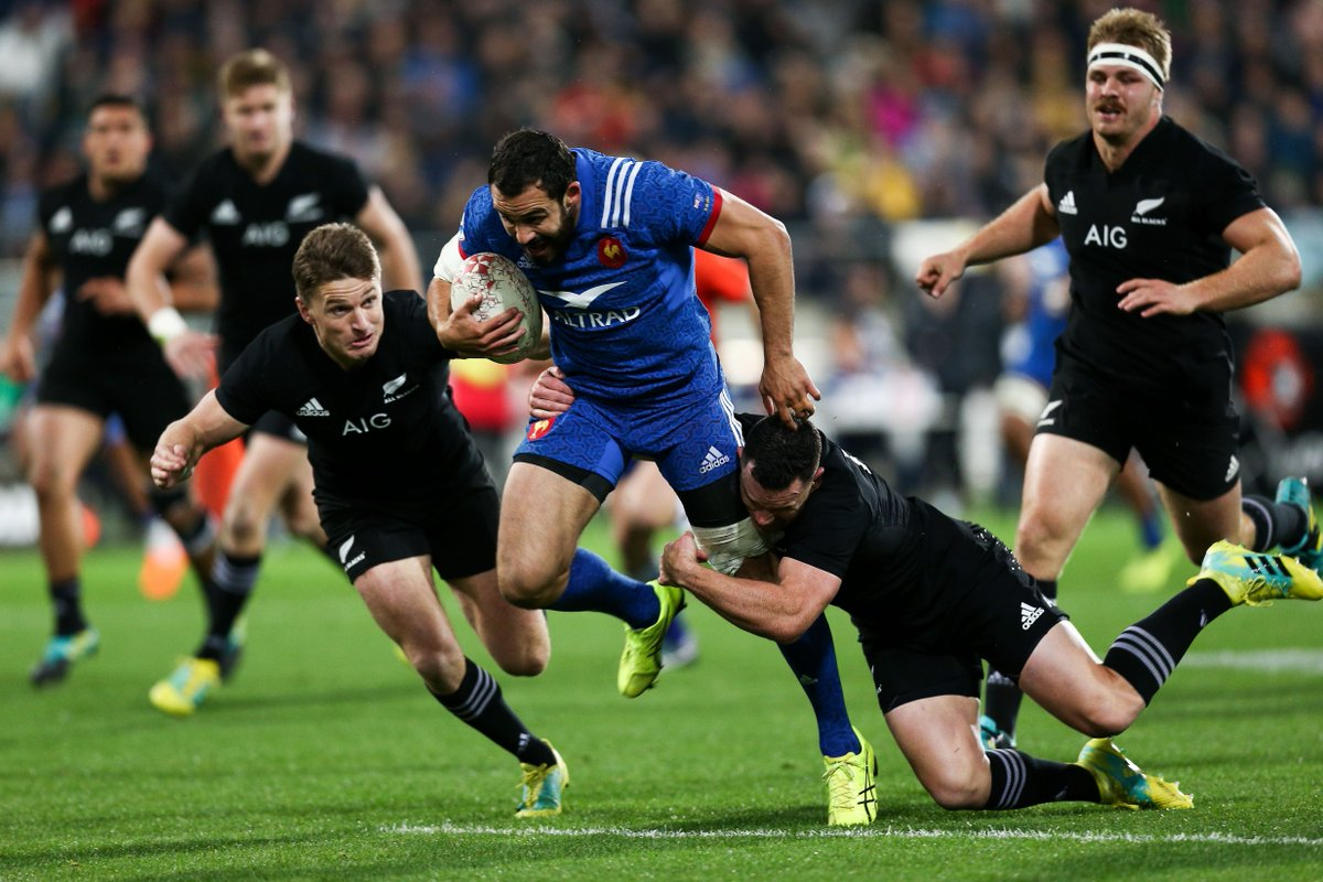 test Twitter Media - We're at the half. New Zealand 21-6 France. Watch on Sky Sports Action and Main Event or follow here: https://t.co/kqaMBcGDwv https://t.co/lCpG4XADSL