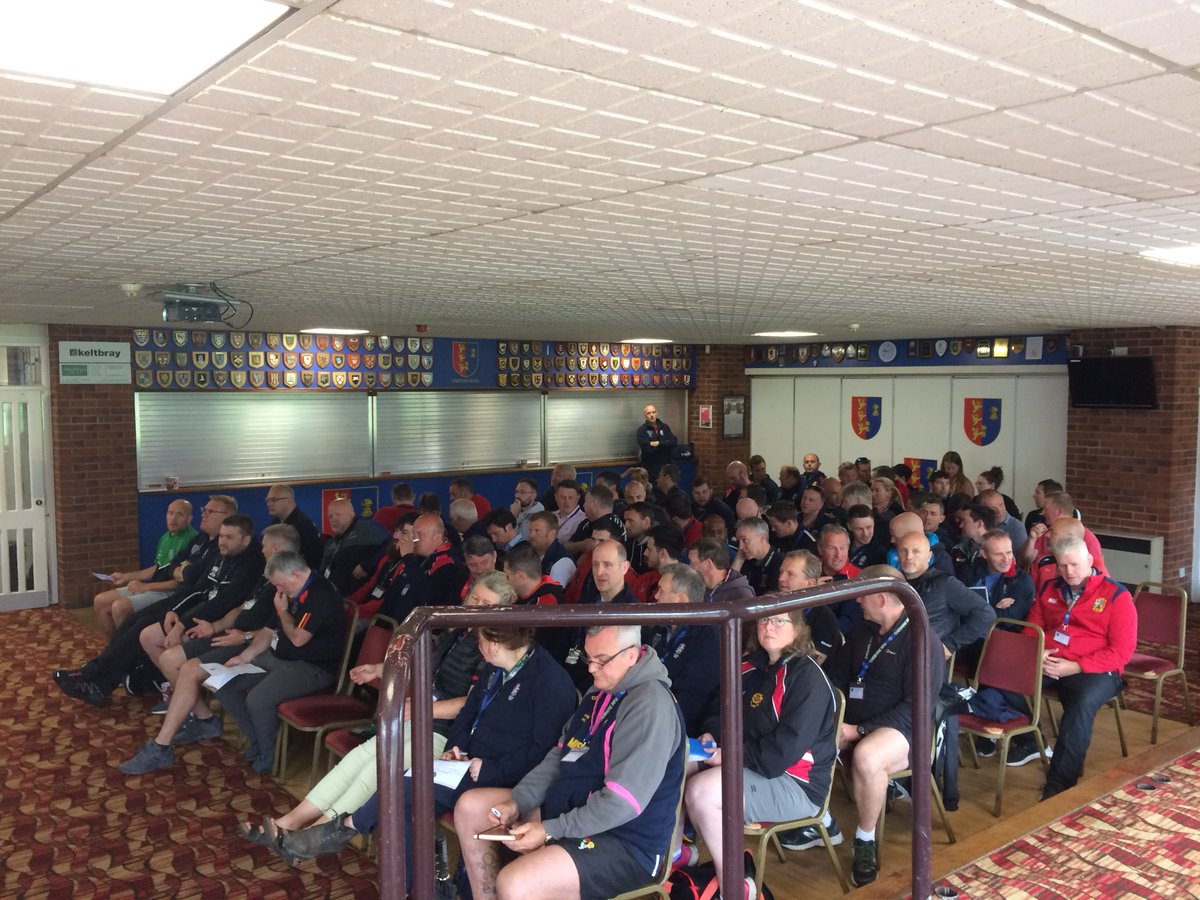test Twitter Media - 80 coaches ready to start the @CheshireRFUNews coaching conference @ChesterRUFC https://t.co/u2UlVsUYN7