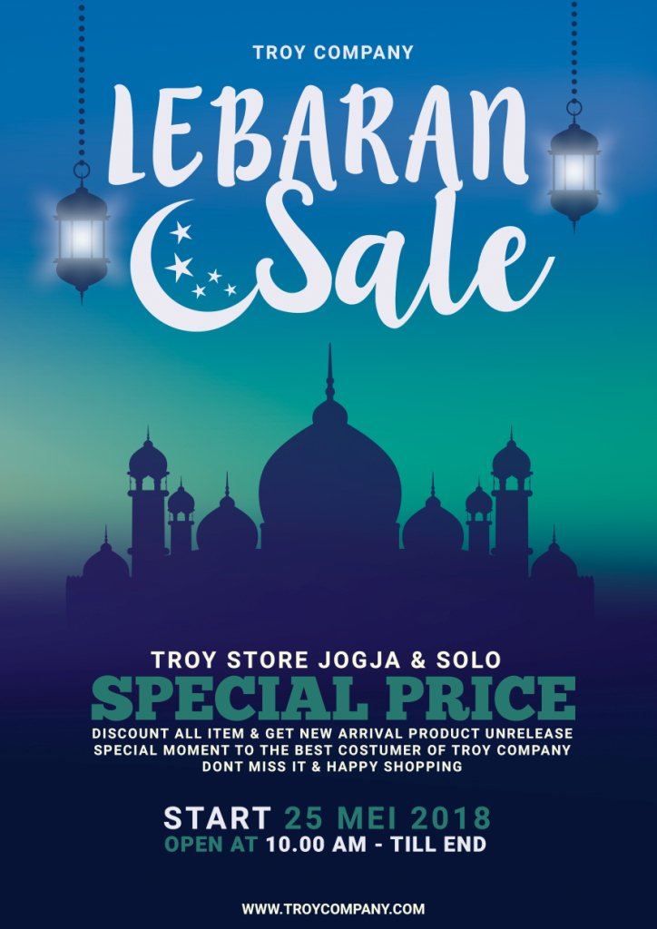 LEBARAN SALE DISCOUNT ALL ITEM!!! TROY STORE AND ONLINE ORDER!! https://t.co/gjebjQszRQ