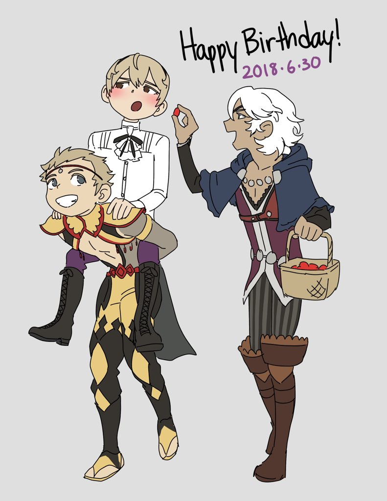 Happy birthday to my prince Leo!!! His retainers insist on doing this for him all day
