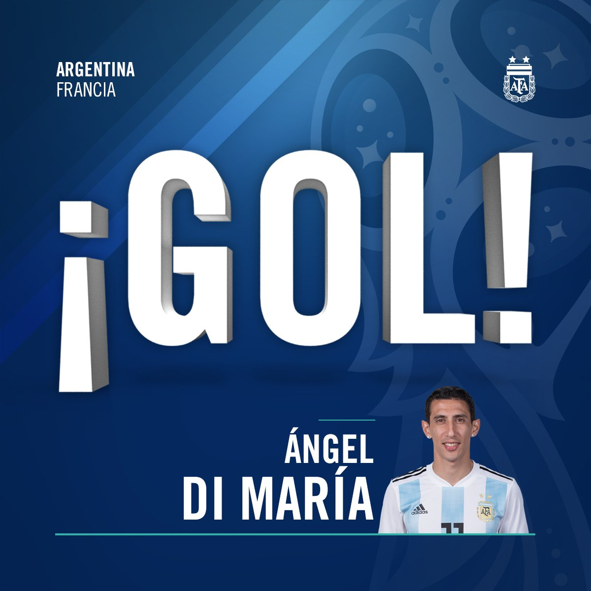 RT @Argentina: #SomosArgentina ¡Gooooooooooooolazooooooo! Ángel Di María iguala para la Selección @Argentina. https://t.co/hUfXMPldJz