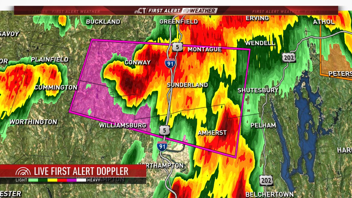 Tornado warning for this storm nbcct