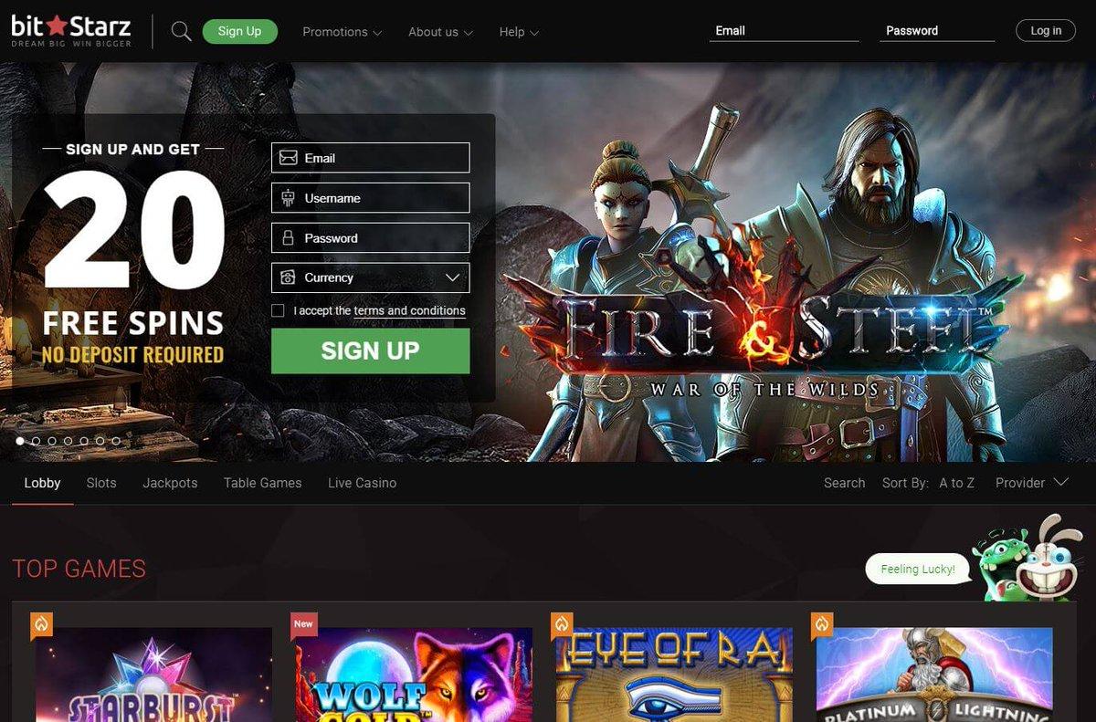 фото Вход официальный сайт казино битстарз